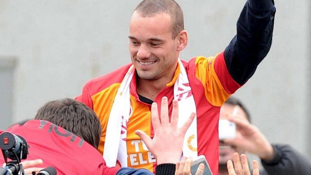 Wesley Sneijder's decision to move to Turkey…