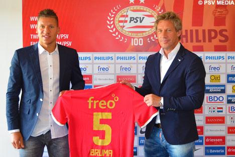 bruma signs PSV