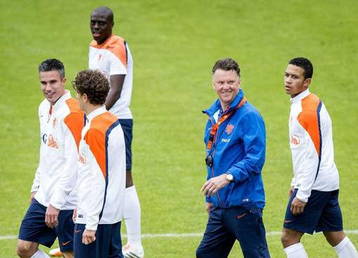 LVG players smile