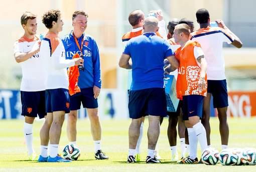 training oranje