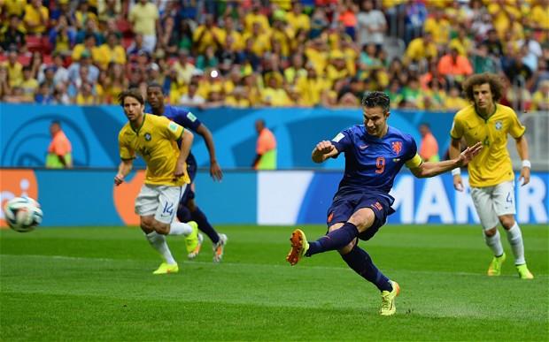 RVP Brazil 1-0