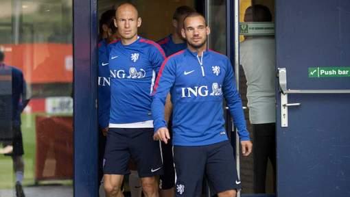 Sneijder Robben