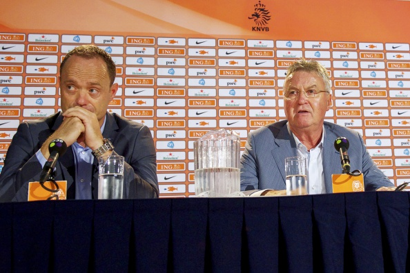 "Zeist - ""Guus Hiddink unveiled as new Netherlands manager"""