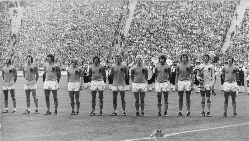 Fußball-WM, BRD - Niederlande 2:1