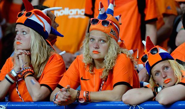 oranje fans balen