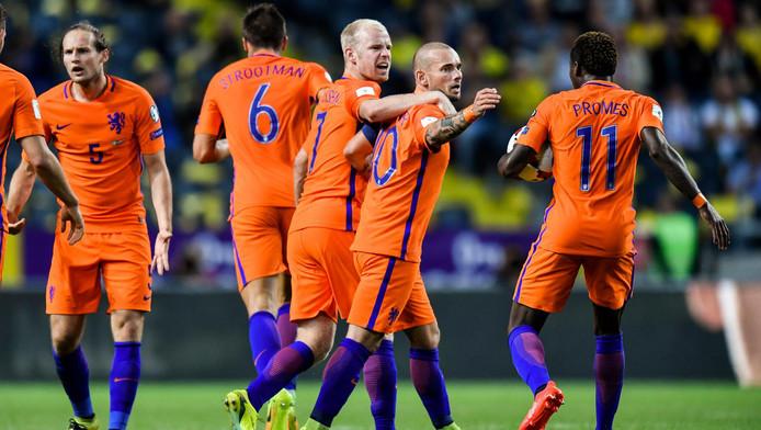 Sneijder goal Swed