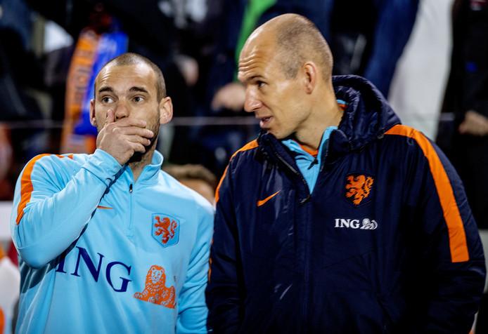 Robben Sneijder italy