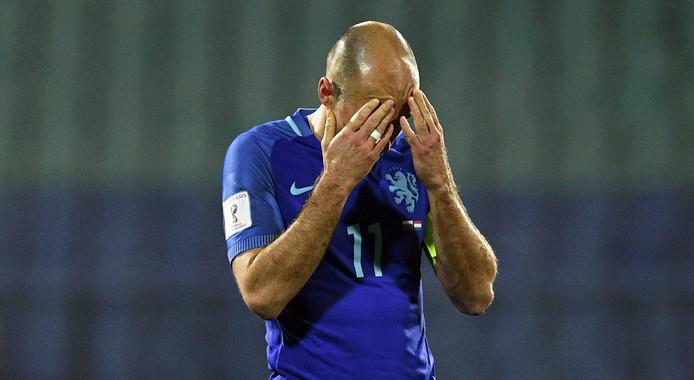 Robben lost