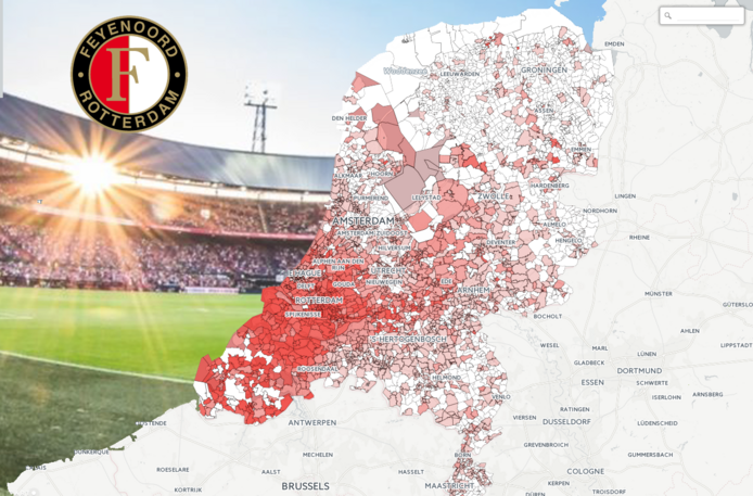 Feyenoord heatmap