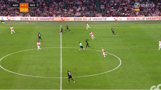 5 players out Ajax