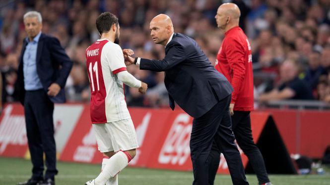 2017-08-02 22:19:11 AMSTERDAM - Coach Marcel Keizer van Ajax. Ajax speelt 2-2 tegen OGC Nice in de derde voorronde van de Champions League en is uitgeschakeld. ANP OLAF KRAAK