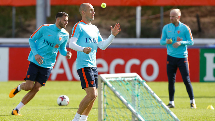 oranje training