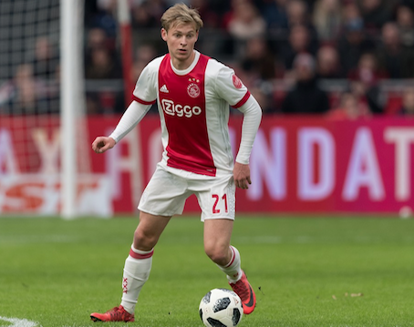 Image result for frenkie de jong
